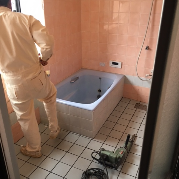 『Y様邸浴室改修工事』