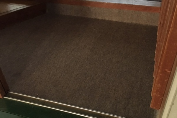 『パンチカーペット』貼り替え工事