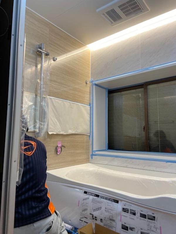 『M様邸 浴室改修工事②』熊本・天草 浴室リフォーム