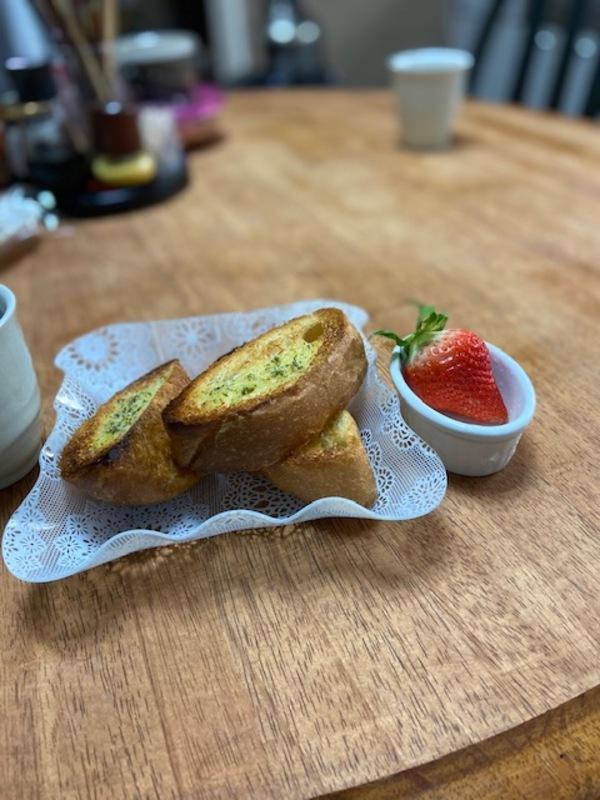 『のんびりと朝食を』
